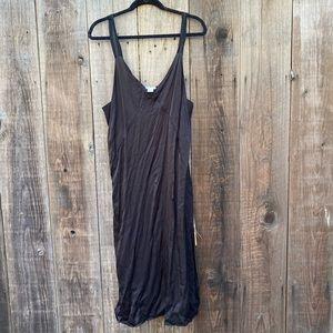 Silk Material Slip Dress